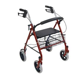 Drive :: Four Wheel Rollator With Fold Up Removable Back Support