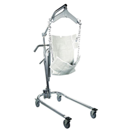 Drive :: Hydraulic Deluxe Chrome Plated Patient Lift with Six Point Cradle