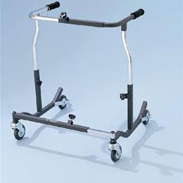 Drive Medical :: Bariatric Safety Rolling Walker  Black
