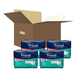 "First Quality :: Prevail Maximum Absorbency Underwear:  Small/Mediu (34"" to 46"") 4 bags of 18 (72ct.)"
