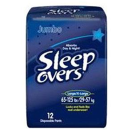 Image of First Quality SleepOvers Youth Underwear (Large) 2
