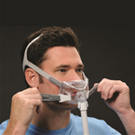 CPAP Full Face Mask :: Philips Respironics :: Amara View Mask with Headgear, Large