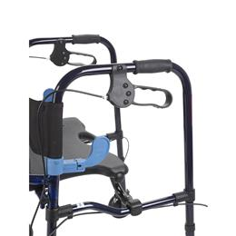 "Image of Clever Lite Rollator Junior Walker With 5"" Casters 4"