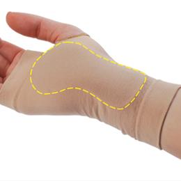Pedifix :: Visco-GEL Carpal Tunnel Relief Sleeve Small Right