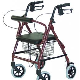 Walkers / Rollators - Graham-Field - Junior Dual-Release Folding Walker with Wheels