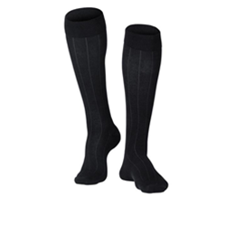 Airway Surgical :: 1012 TOUCH Men's Compression Ribbed Pattern Knee Socks