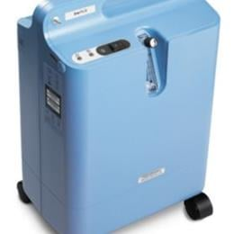 Image of EverFlo Q Stationary Oxygen Concentrator with OPI 2
