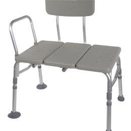 Drive :: Plastic Transfer Bench With Adjustable Backrest