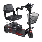 Drive Phoenix 3 Wheel Compact Scooter - Features and Benefits: