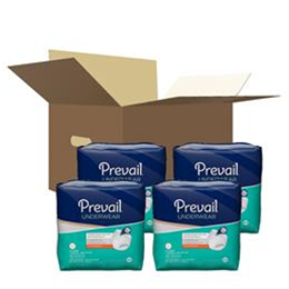 "First Quality :: Prevail Extra Absorbency Underwear:  X-Large (58"" to 68"")  4 bags of 14 (56ct.)"