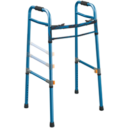 Drive :: Universal (Adult/Junior) Deluxe Folding Walker, Two Button