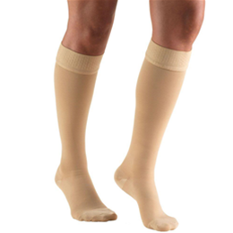 Airway Surgical :: 8864 TRUFORM Classic Compression Ladies' Knee High, Closed Toe, Stay-Up Beaded Top Stocking