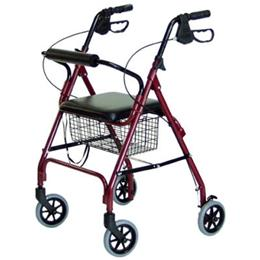 Image of Walkabout Four-Wheel Bariatric Rollator 1