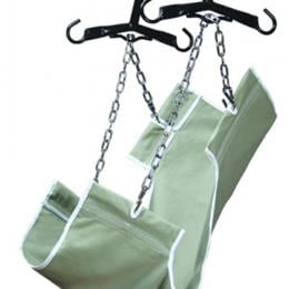 Graham Field :: 2-Point Slings, Heavy Duty Canvas Fabric, With Commode Opening, 400 lb. Weight Capacity