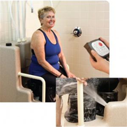 "Best Bath Systems :: Best Bath ""Oasis"" Automated Seated Shower System"