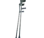 Forearm Crutches - Youth - Constructed with high-strength aluminum tubing.  Easy push-