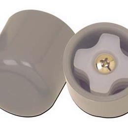 Drive Medical :: Glide Cap (pair) Gray