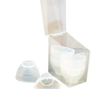 Eye Cups (Plastic) 6 Cups/Box - Plastic disposable cups used for flushing irritants out of ey