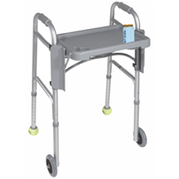 Image of Folding Walker Tray 2