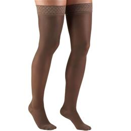 Image of 0264 TRUFORM Ladies' Trusheer Thigh High Stockings 4