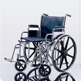 "Image of WHEELCHAIR MDS806750 20"" FLA ELR 1"