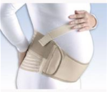 FLA Soft Form Maternity Support Belt - Helps alleviate lower back pain due to pregnancy by supporting t