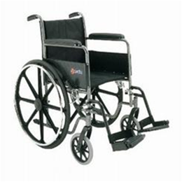 N211 Standard Wheelchair (Dual axles)