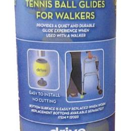 Drive Medical :: Tennis Ball Glides (2) (In Tennis Ball Can)