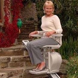 Image of Acorn Superglide Outdoor Stair Lift 1