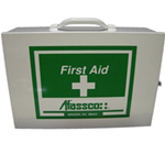 "First Aid Cabinet - Industrial Cabinet, 2 Shelf - 10-1/2"" x 15"" x 5-1/2"" -"