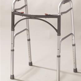 Drive Medical :: Easy-Release 2 Button Folding Walker Adult