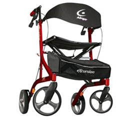 Image of Airgo eXcursion X23 Lightweight Side-Fold Rollator