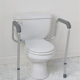 Image of RAIL TOILET SAFETY FOLDABLE RETAIL 1