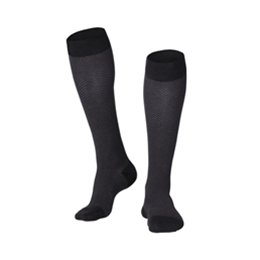 Airway Surgical :: 1021 TOUCH Men's Compression Herringbone Pattern Knee Socks