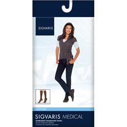 Image of SIGVARIS Cotton 20-30mmHg - Size: XL - Color: NAVY