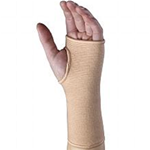 Firm Elastic Pullover Wrist Support - This is a medium duty controlled stretch wrist support that can