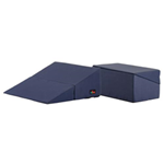 "Aids to Daily Living :: Nova Medical Products :: 10"" Folding Bed Wedge Blue"