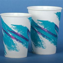 Image of CUP PAPER 16 OZ COLD JAZZ WAXED