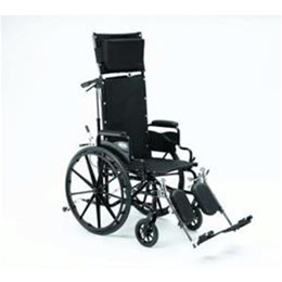Wheelchairs :: Generic  :: Wheelchair: Reclining with elevating leg rests and anti-tippers