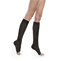 Therafirm :: EASE Sheer Knee High Open Toe for Women with Mild Support