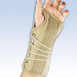 FLA Orthopedics Inc. :: Soft Fit Wrist Brace Series 22-150XXX (Right) Series 22-151XXX (Left)