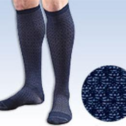Image of Activa® Men's Patterned Casual Socks 15-20 mm Hg Series H24 (Herringbone Pattern) 1