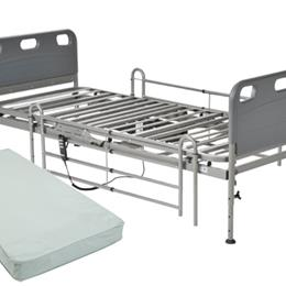 Image of Competitor Semi-Electric Bed Package w/Mattress & Rails