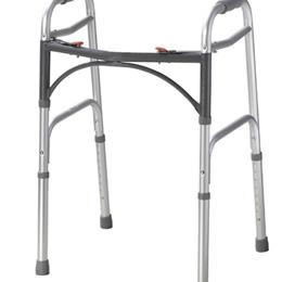 Drive Medical :: Easy-Release 2 Button Folding Walker Youth