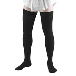 Airway Surgical :: 1945 TRUFORM Men's Compression Thigh-High Dress Socks