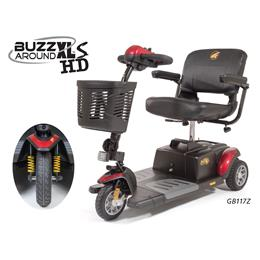 Golden Technologies :: Buzzaround XLS-HD