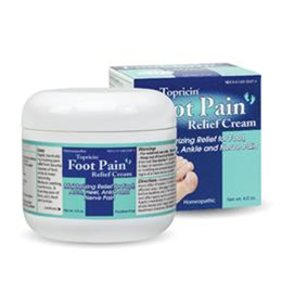 Topical BioMedics Inc :: Topricin Foot Pain Relief Cream