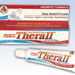 FLA Orthopedics Inc. :: Therall™ Arthritis Pain Relief Cream Series 53-C101