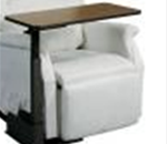 Side Table for Lift Chair - Designed for use with a lift chair, standard recliner or couch.<