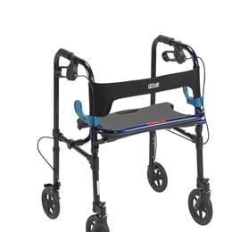 "Rollators :: Drive :: Clever Lite Rollator Walker With 8"" Casters"